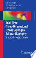 Real Time Three Dimensional Transesophageal Echocardiography