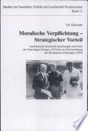 Moralische Verpflichtung   strategischer Vorteil