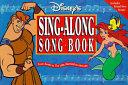 Disney s Sing Along Song Book Book PDF