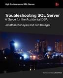 Troubleshooting SQL Server