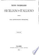 Nuovo vocabolario Siciliano Italiano