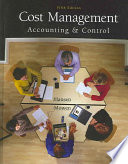 Cost Management: Accounting and Control