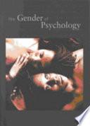 The Gender of Psychology
