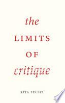The Limits of Critique