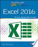 Teach Yourself VISUALLY Excel 2016