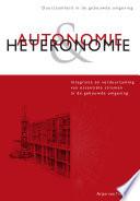 Autonomie   Heteronomie