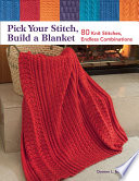 Pick Your Stitch  Build a Blanket