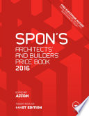 Spon s Architect s and Builders  Price