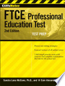 CliffsNotes FTCE Professional Education Test with CD ROM  2nd Edition