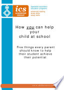 How You Can Help Your Child At School