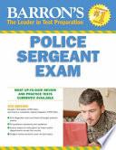 Barron s Police Sergeant Examination
