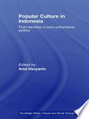 Popular Culture In Indonesia