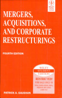 Mergers Acquisitions And Corporate Restructurings 4th Ed