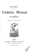 Œuvres de Frédéric Mistral ...