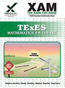 Texes Mathematics 4 8 114 115