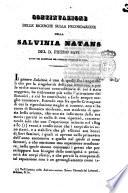 Continuazione delle ricerche sulla fecondazione della salvina natans del d  Pietro Savi