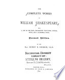 The Complete Works of William Shakespeare  Julius Caeser  Hamlet