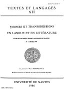 Langue française n°48 - histoire de la linguistique française