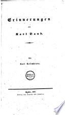 Erinnerungen an Karl Daub