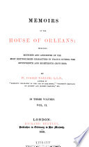 Memoirs of the House of Orleans