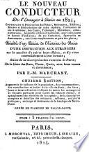 Le nouveau conducteur de l'etranger à Paris en 1824