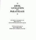 Civil Litigation for Paralegals