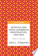 African and Afro-Caribbean Repatriation, 1919–1922