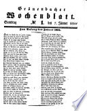 Grönenbacher Wochenblatt