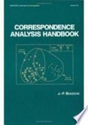 Correspondence Analysis Handbook