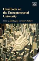 Handbook on the Entrepreneurial University