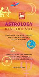 Astrology Dictionary Book PDF