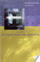 Aspecten van Europees materieel strafrecht