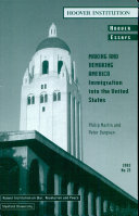 Making and Remaking America: Immigration into the United States