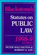 Blackstone s Statutes on Public Law
