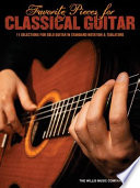Favorite Pieces for Classical Guitar  Songbook