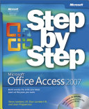 Microsoft   Office AccessTM 2007 Step by Step