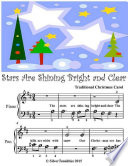 Stars Are Shining Bright and Clear   Beginner Tots Piano Sheet Music