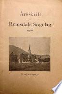 Romsdal Sogelag Årsskrift 1926