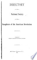 Directory of the National Society of the Daughters of the American Revolution