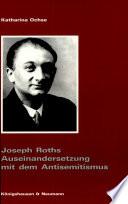 Joseph Roths Auseinandersetzung Mit Dem Antisemitismus