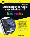 L'ordinateur Portable avec Windows 10 Pour les Nuls, nouvelle édition