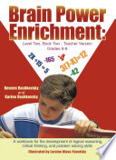Brain Power Enrichment  Level Two  Book Two   Teacher Version Grades 6   8