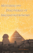 download ebook mysteries and discoveries of archaeoastronomy pdf epub