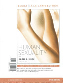 Human Sexuality Books A La Carte Edition
