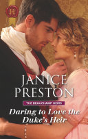 Daring To Love The Duke's Heir : beauchamp heirs: dominic beauchamp, lord avon,...