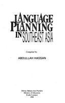 Language Planning in Southeast Asia
