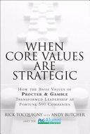 When Core Values are Strategic