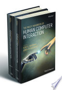 The Wiley Handbook Of Human Computer Interaction Set