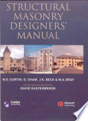 Structural Masonry Designers Manual
