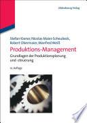 Produktions Management